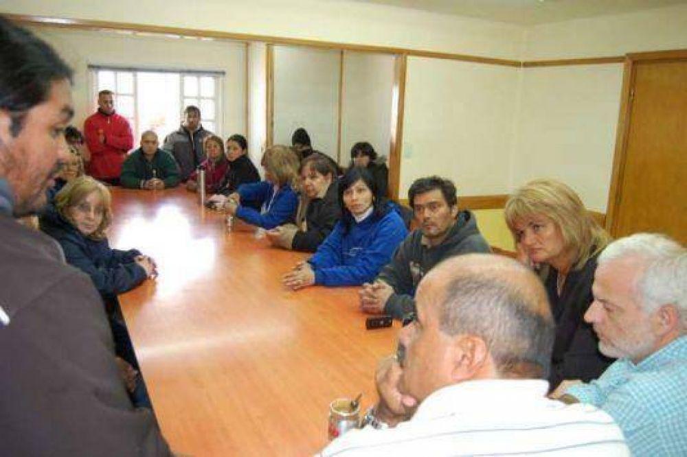 Rodríguez adelantó que se mediará para acercar el reclamo a la órbita provincial.