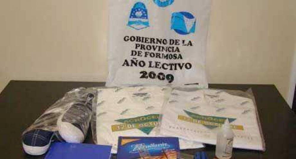 El 2 de marzo se entregarán los kits de útiles escolares e indumentaria