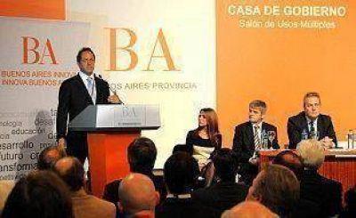 Scioli apunta a la innovación productiva y la generación de inversiones