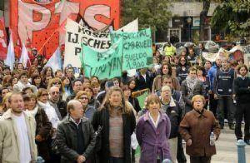Estatales planean el primer paro conjunto contra P�rez