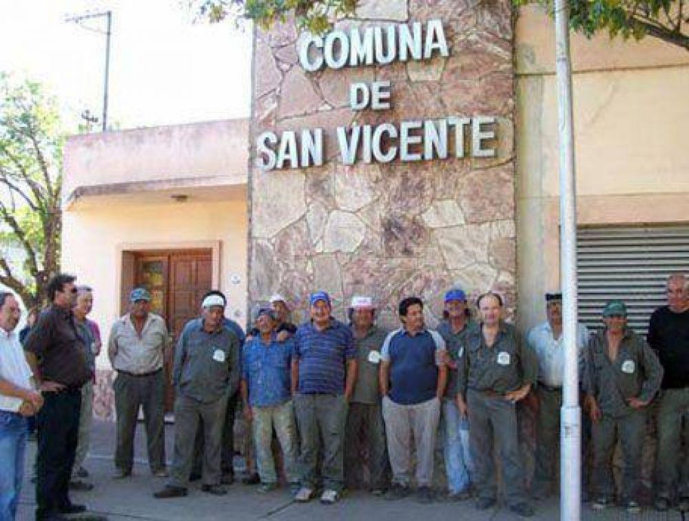 Finaliza hoy el paro de municipales en San Vicente