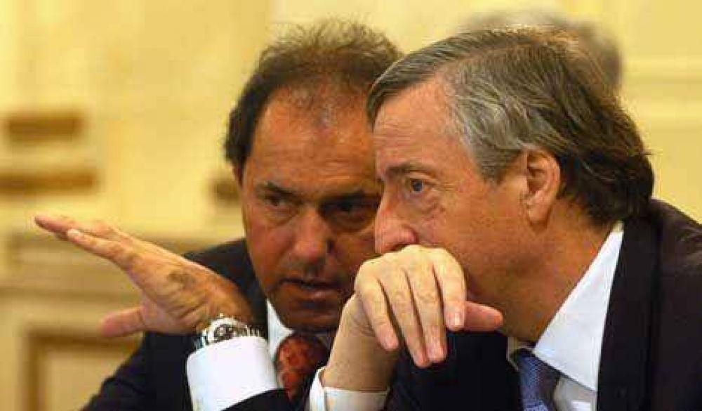 Scioli cumplió la orden de Kirchner y