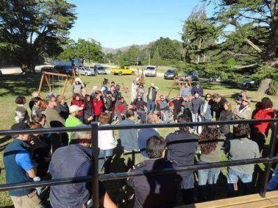 Inseguridad: los vecinos de Villa Laguna Brava se concentraron en la ruta 226