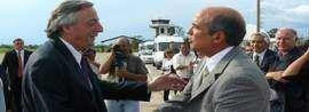 Segura destacó la visita de Kirchner a Jujuy