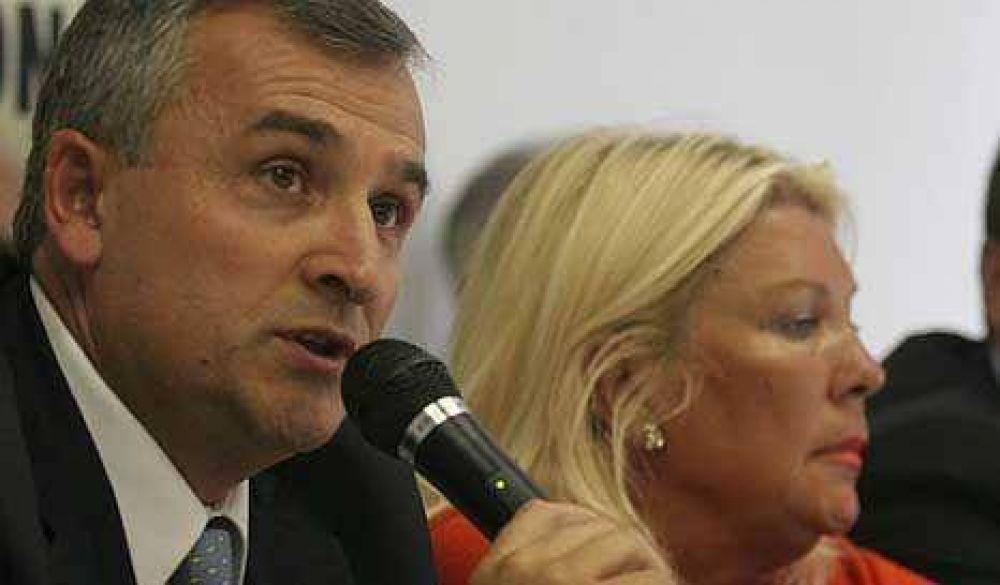 Morales y Carrió, juntos contra el fraude