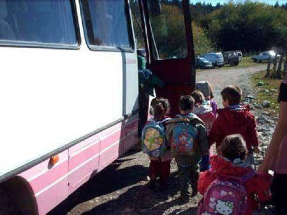 Transporte escolar: un problema que se repite todos los años
