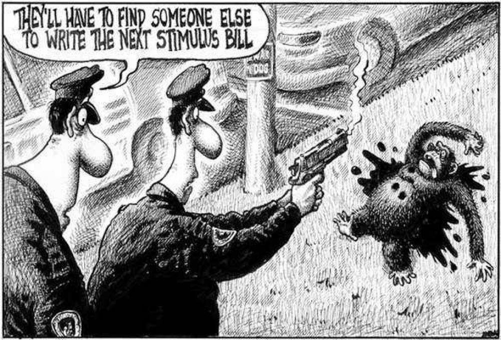 Protesta por una caricatura