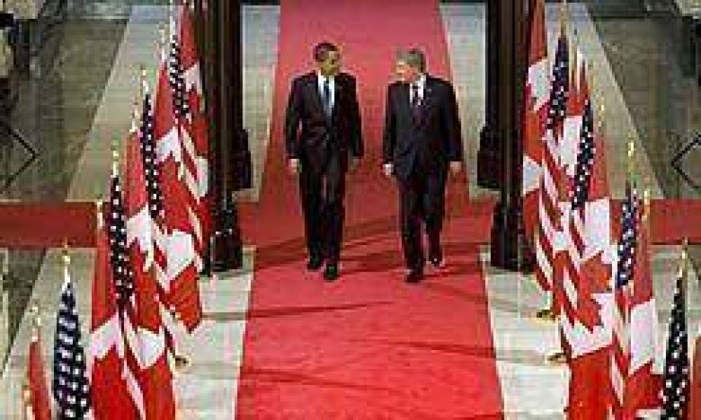 Obama viajó a Canadá en su primera visita oficial al extranjero