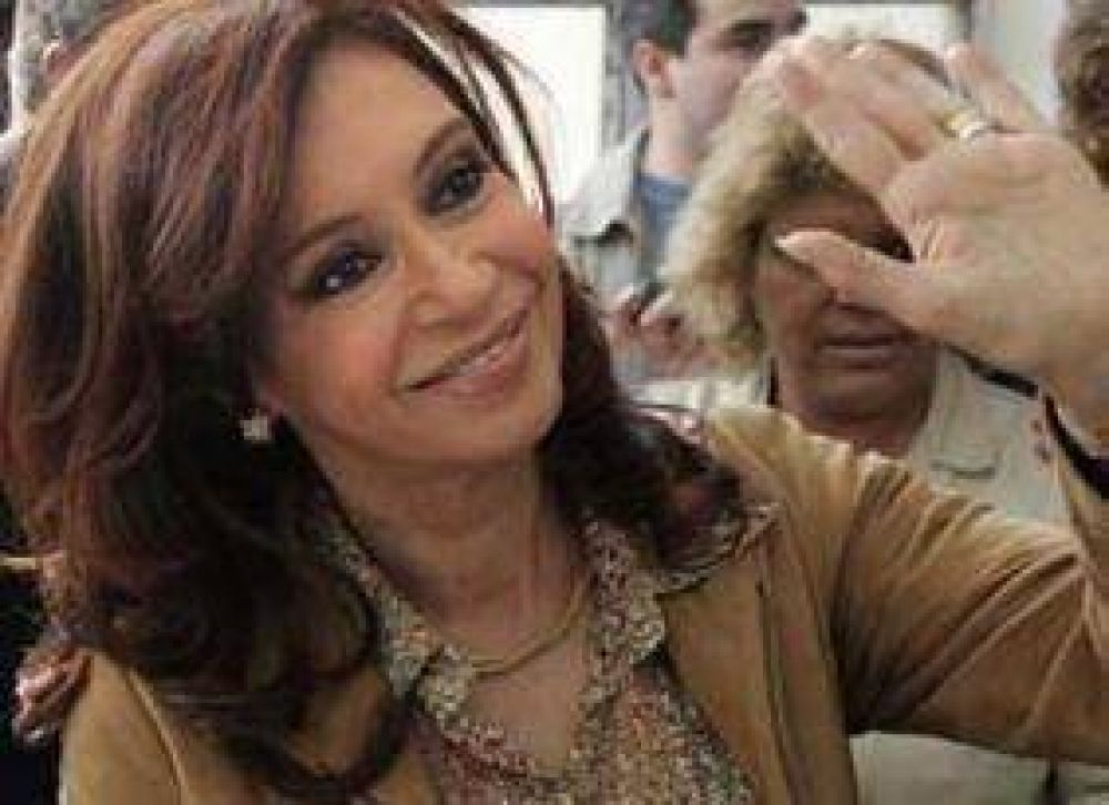 La Presidenta llega a Rosario