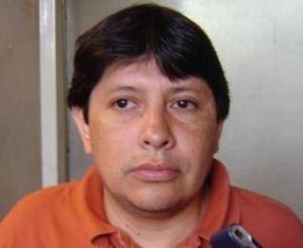 """Freddy Berdeja, expresó que """"los trabajadores judiciales no estamos dispuestos a negociar nuestra dignidad""""."""