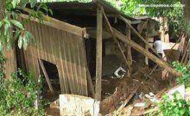 Relevamiento habitacional en Tartagal luego del Alud.