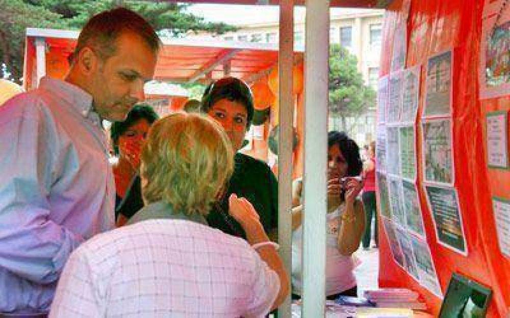El Presupuesto Participativo mostró sus objetivos para 2009 en una exposición.