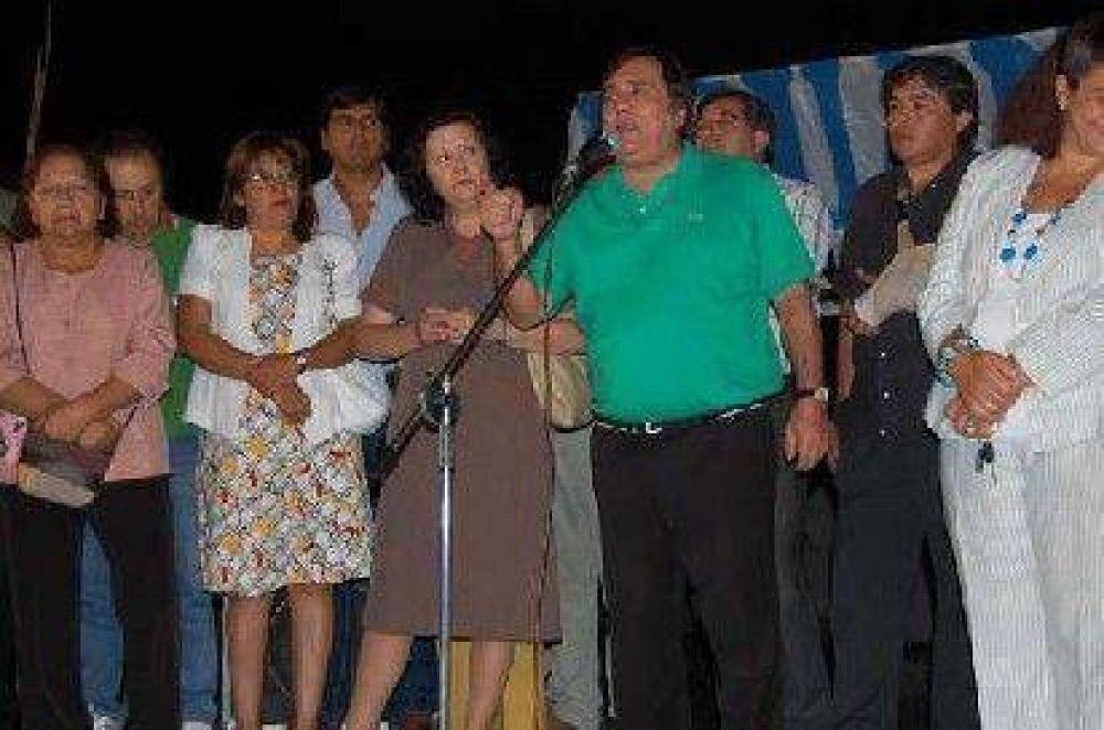 Saadi ratificó su apoyo al FJpV, pero advirtió que el 9 de marzo reclamará internas.