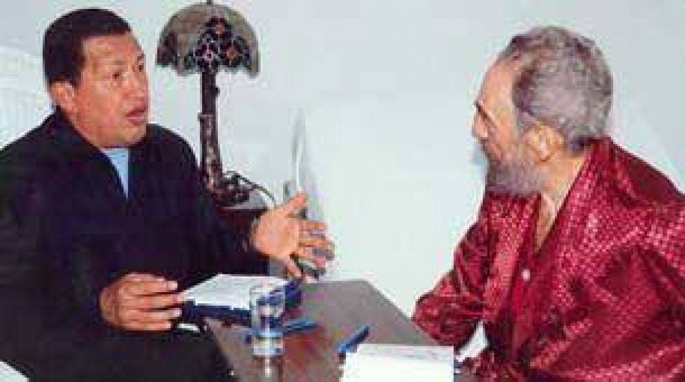 Chávez se reunió dos veces con Fidel en La Habana