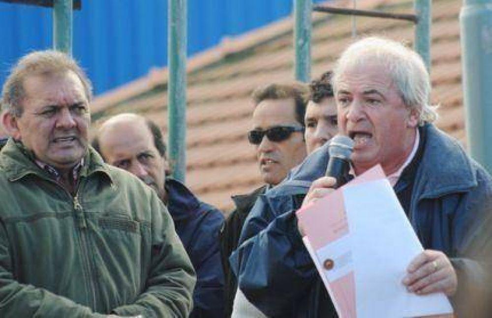"""San Martín: """"No soy ningún loquito; estoy aquí por directivas de Scioli y Cuartagno"""""""