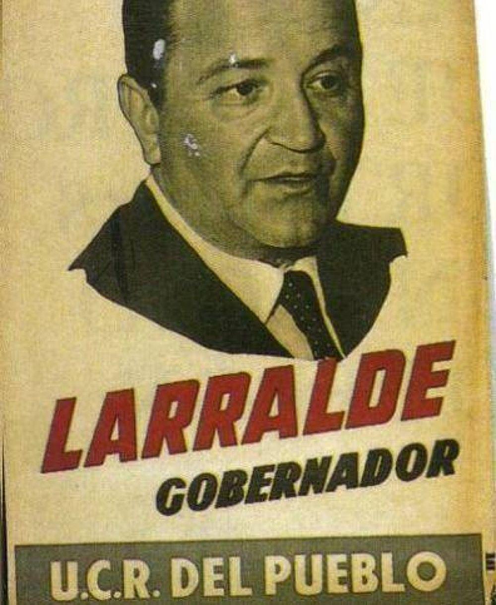 La UCR hará un acto en homenaje a Crisólogo Larralde