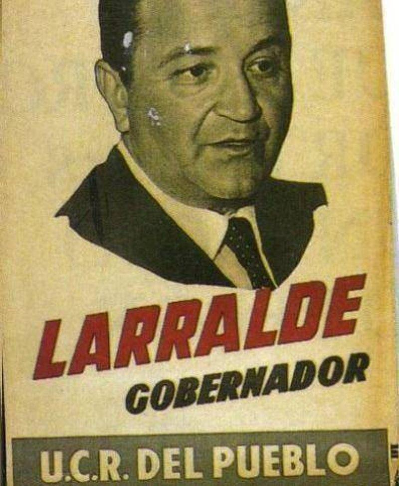 La UCR har� un acto en homenaje a Cris�logo Larralde