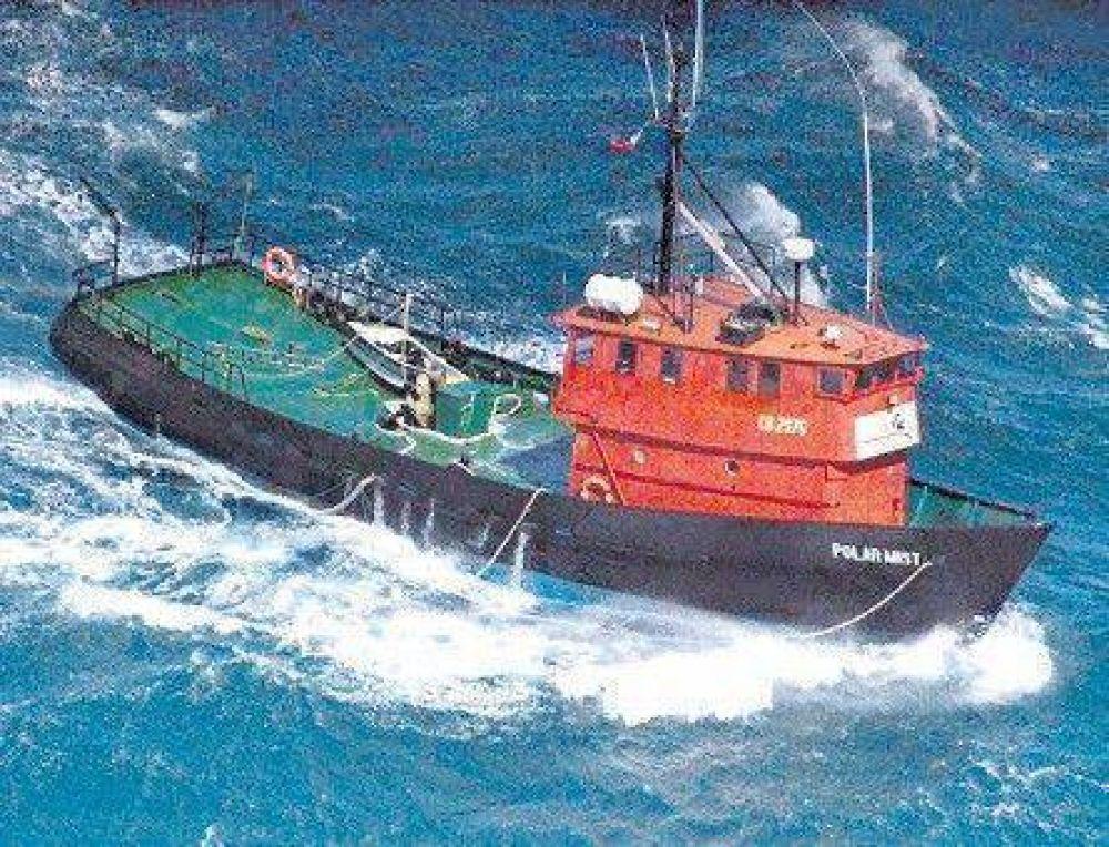 La Justicia no resolvió qué será del futuro del barco con oro