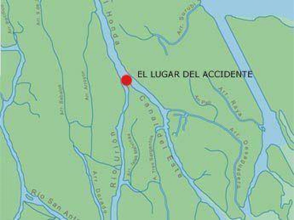 Chocaron dos lanchas en el Delta: hay cuatro heridos y un desaparecido