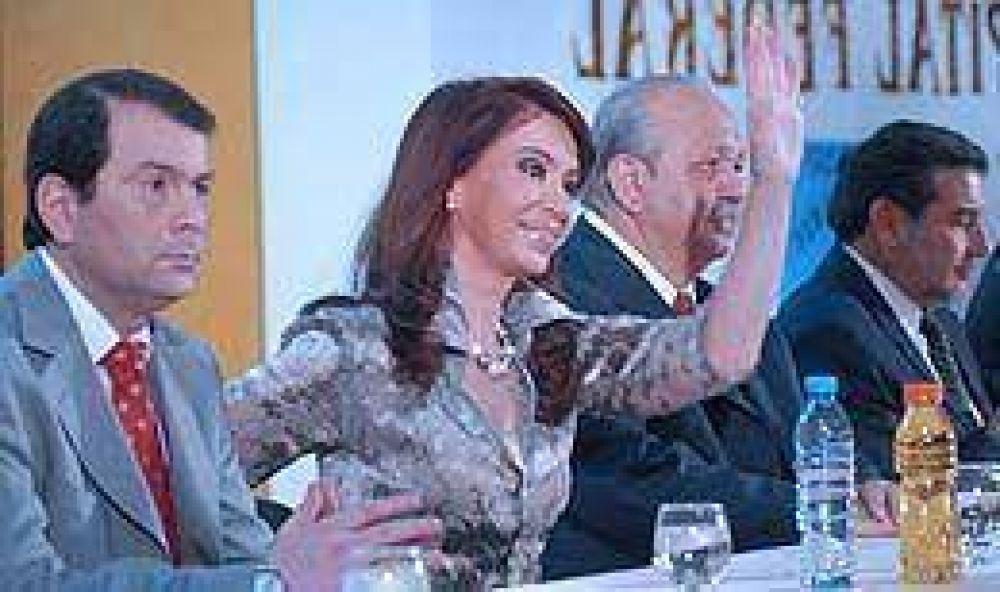A horas de reunirse con el Campo, Cristina dijo que el Gobierno