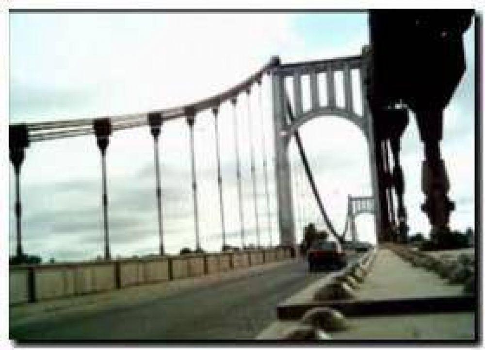 NECOCHEA: La remodelación del Puente Colgante entre las obras de Vialidad Provincial