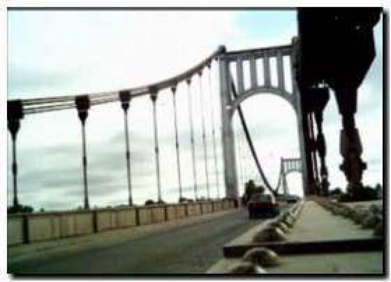 NECOCHEA: La remodelaci�n del Puente Colgante entre las obras de Vialidad Provincial