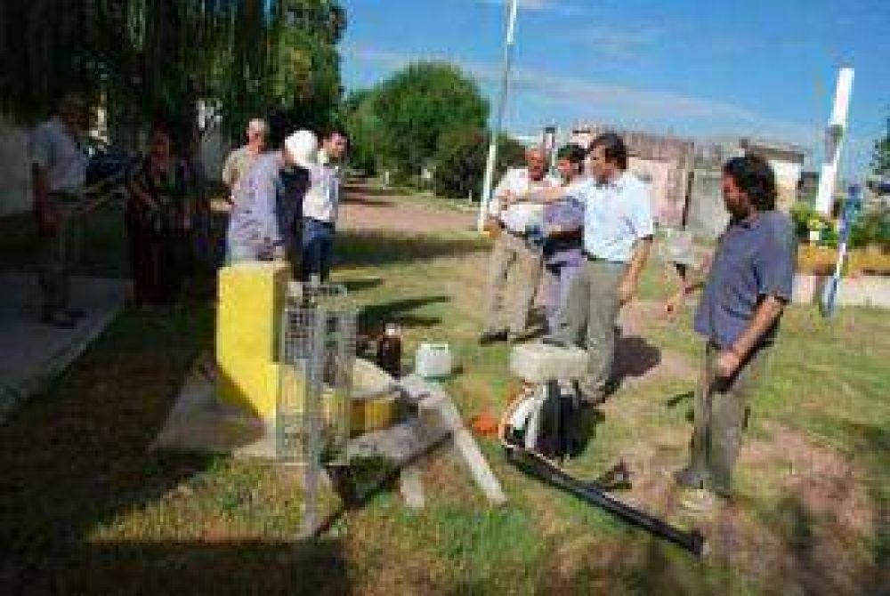 Dengue: cerraron el cementerio hasta mañana para fumigarlo