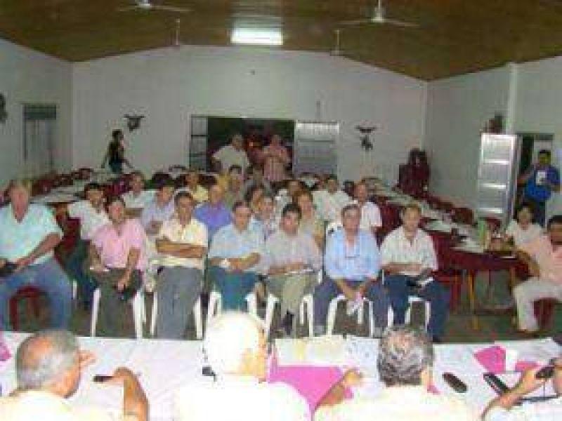 La situaci�n impositiva, una de las preocupaciones de Fechaco en San Bernardo