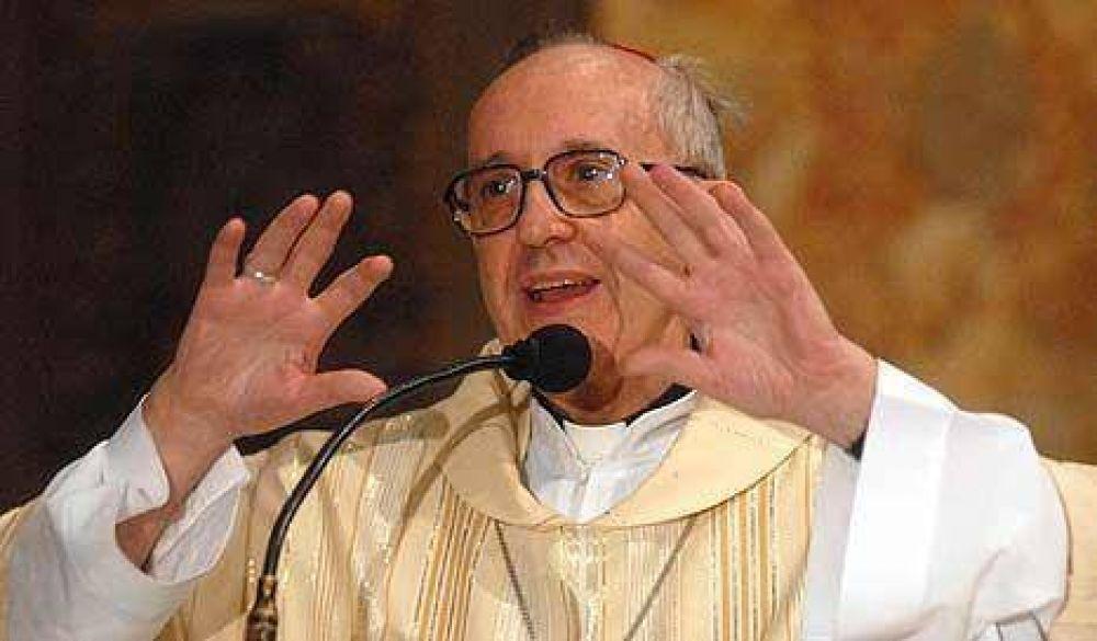 "Bergoglio condenó el ""acostumbramiento"" a la pobreza"
