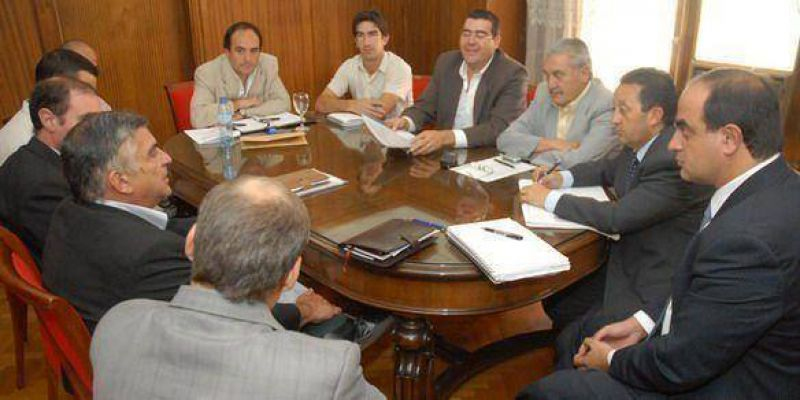 Jaque volvió a reunirse con sectores productivos de General Alvear