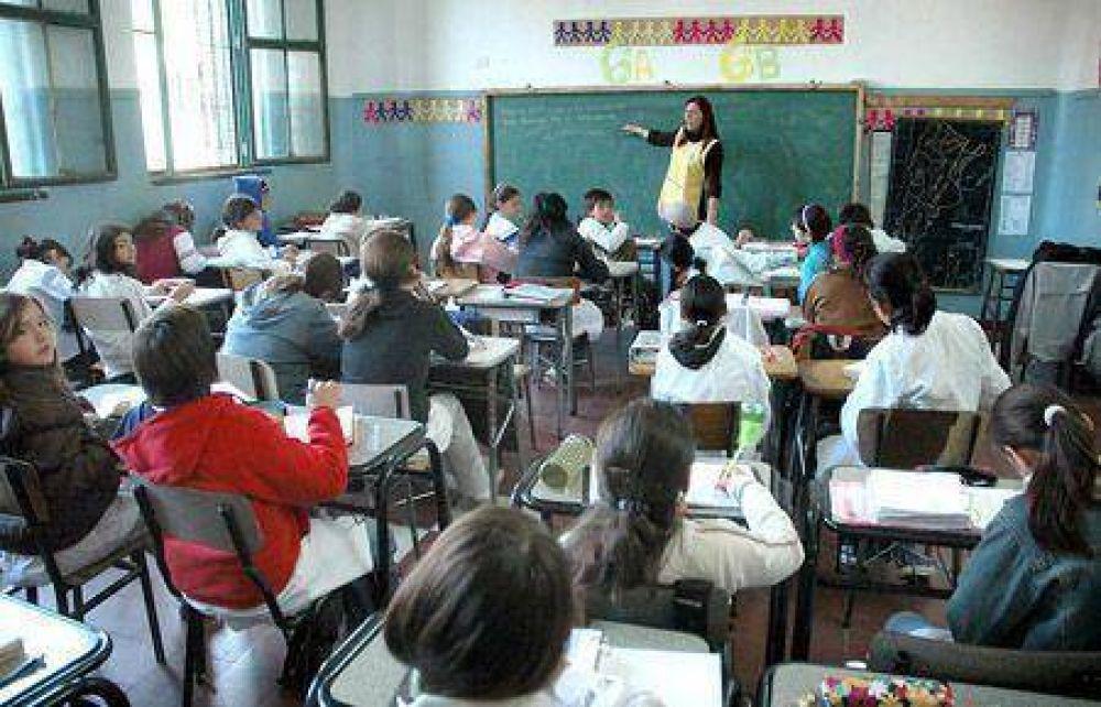 Los docentes esperan llegar a un acuerdo en la paritaria