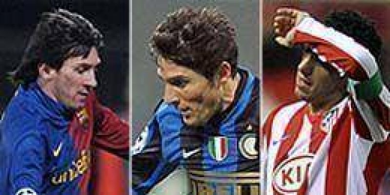 Empates del Barcelona, Inter y el Atl�tico por los octavos de la Champions.