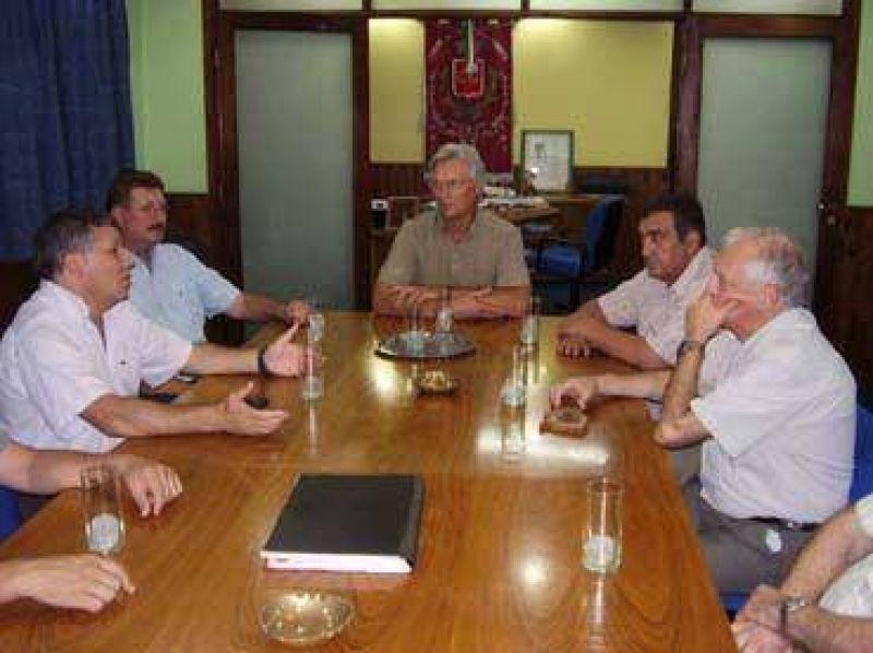 Benedetti continúa con su gira por el departamento San Justo