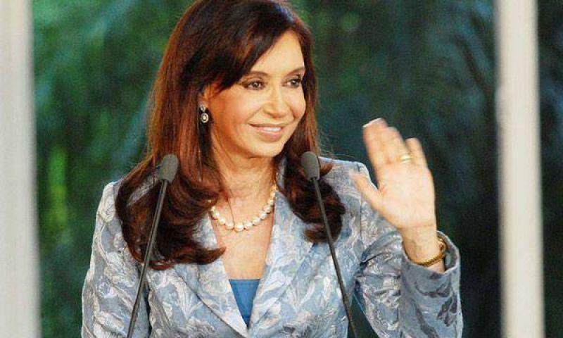Cristina Kirchner y Binner inauguran obras en Rosario