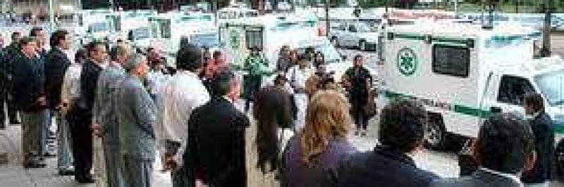 Nuevas ambulancias se suman al sistema SAME 107 de Jujuy