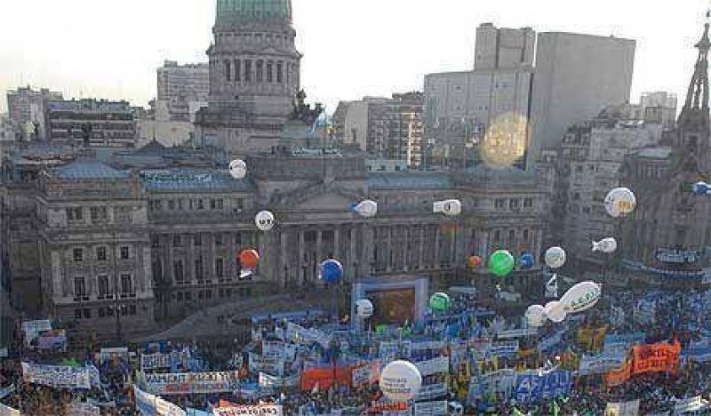 La Presidenta tendrá la plaza llena el domingo
