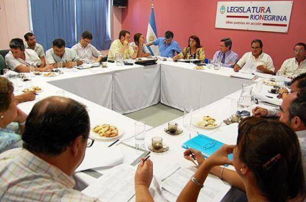 Río Negro: Piccinini dará su informe en el recinto legislativo el viernes a las 18.