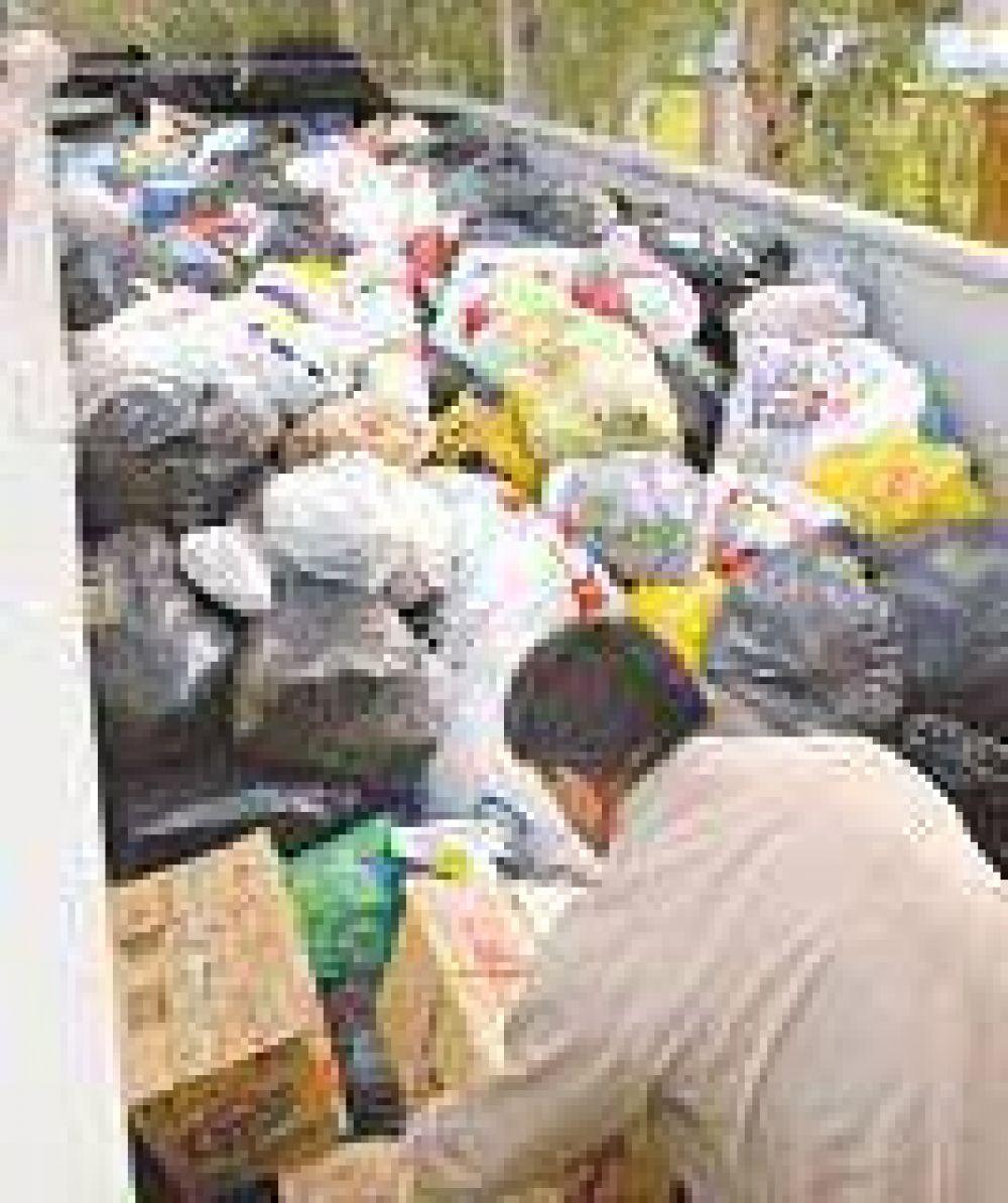 La ayuda de los santiagueños ya fue distribuida en Tartagal