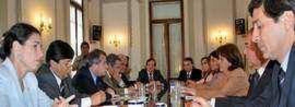 Primera reunión de la Comisión Provincial del Bicentenario