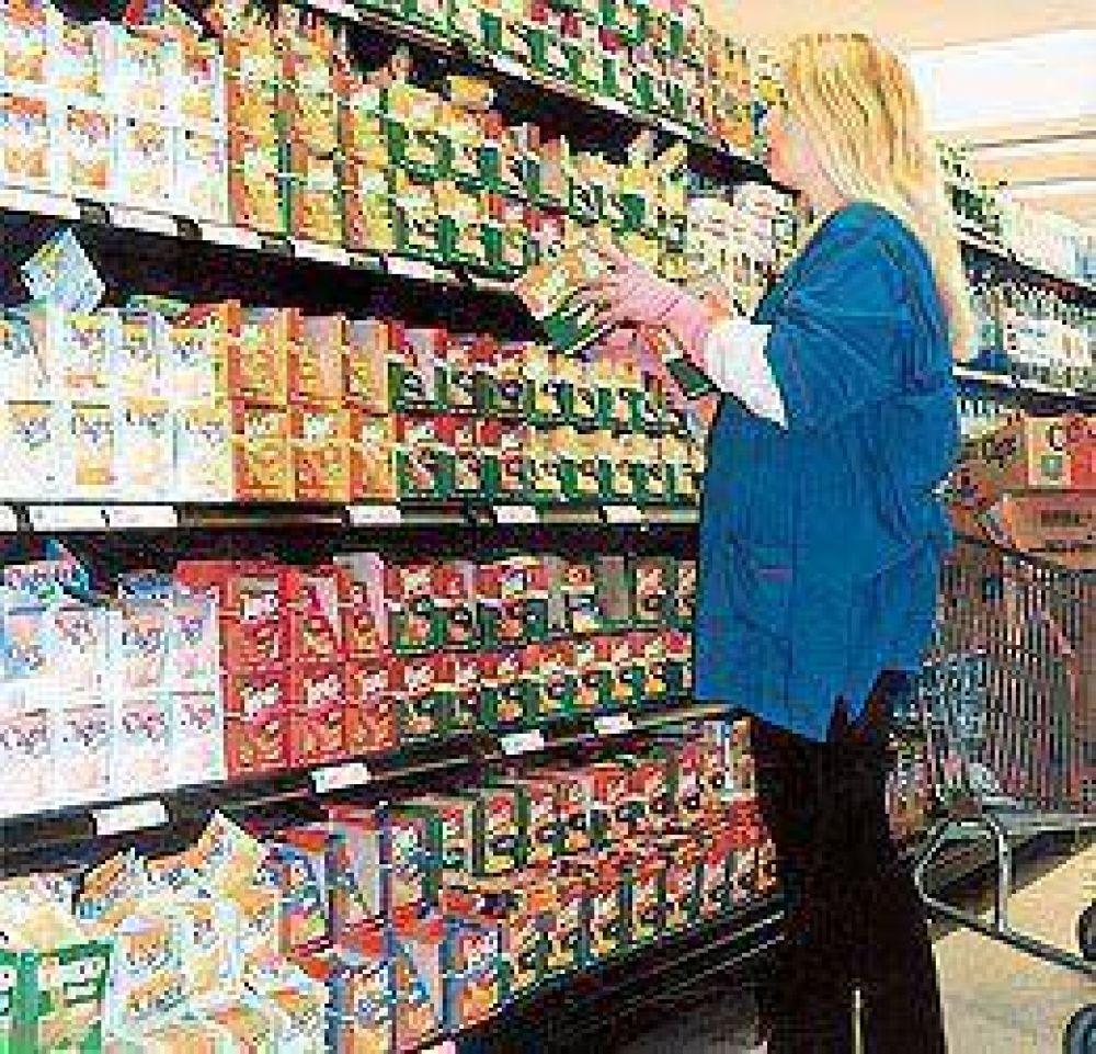 Repuntaron fuerte las ventas en supermercados durante enero, pero se frenaron en los shoppings