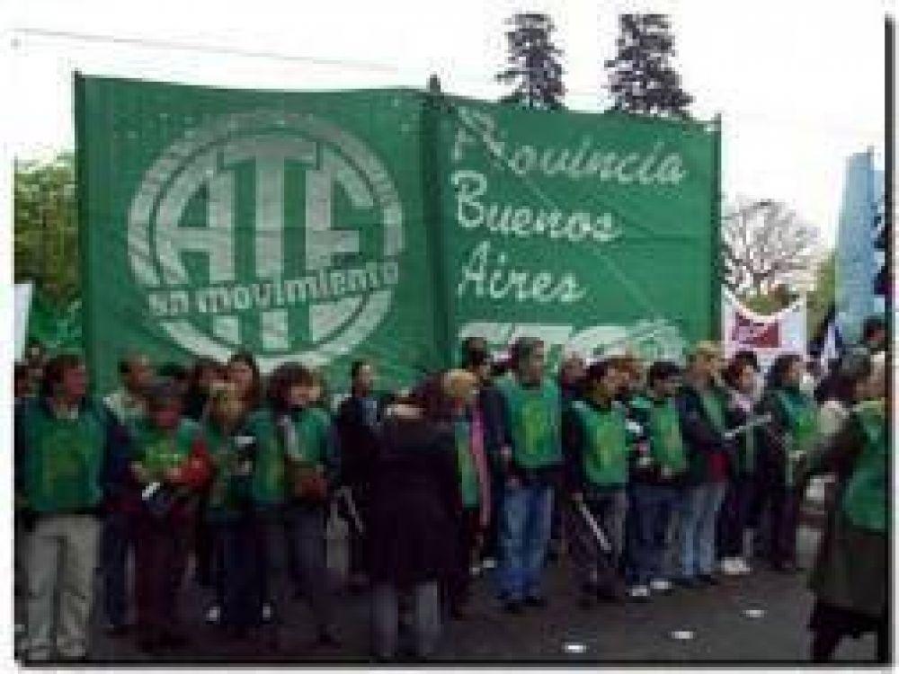 Jornada de lucha de ATE en la Provincia