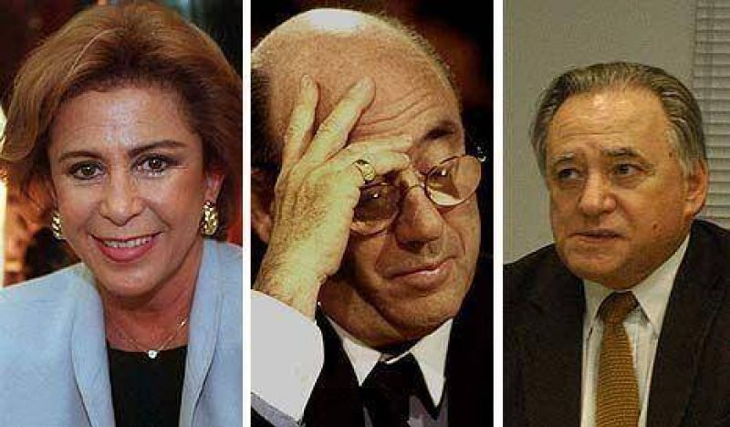 María Julia, Grosso y Alderete, complicados