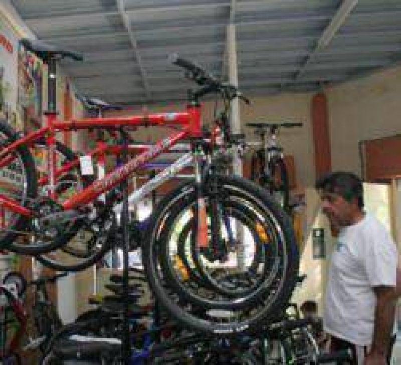 Hay escasa información del canje de bicicletas.