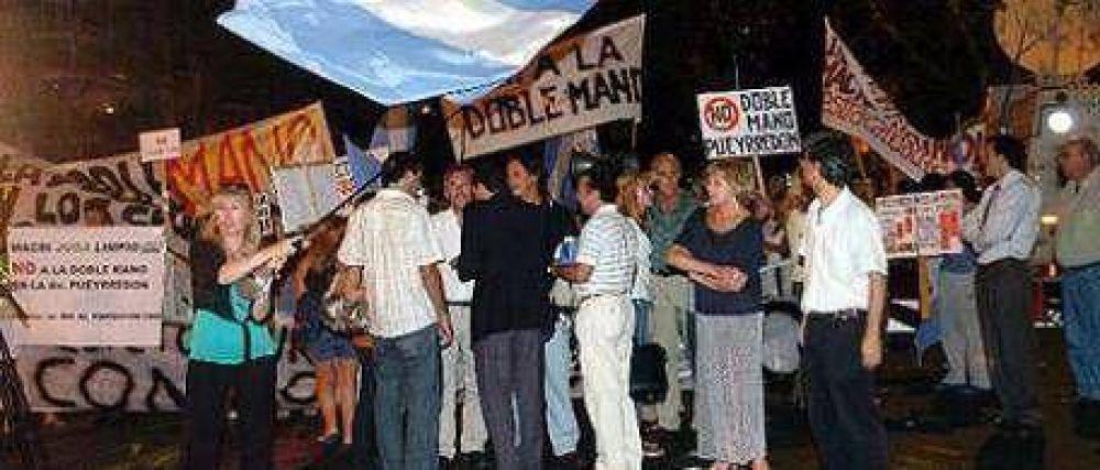 Debuta la doble mano en avenida Pueyrredón