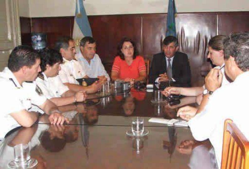 Jefe Departamental Mercedes se presentó en Luján.