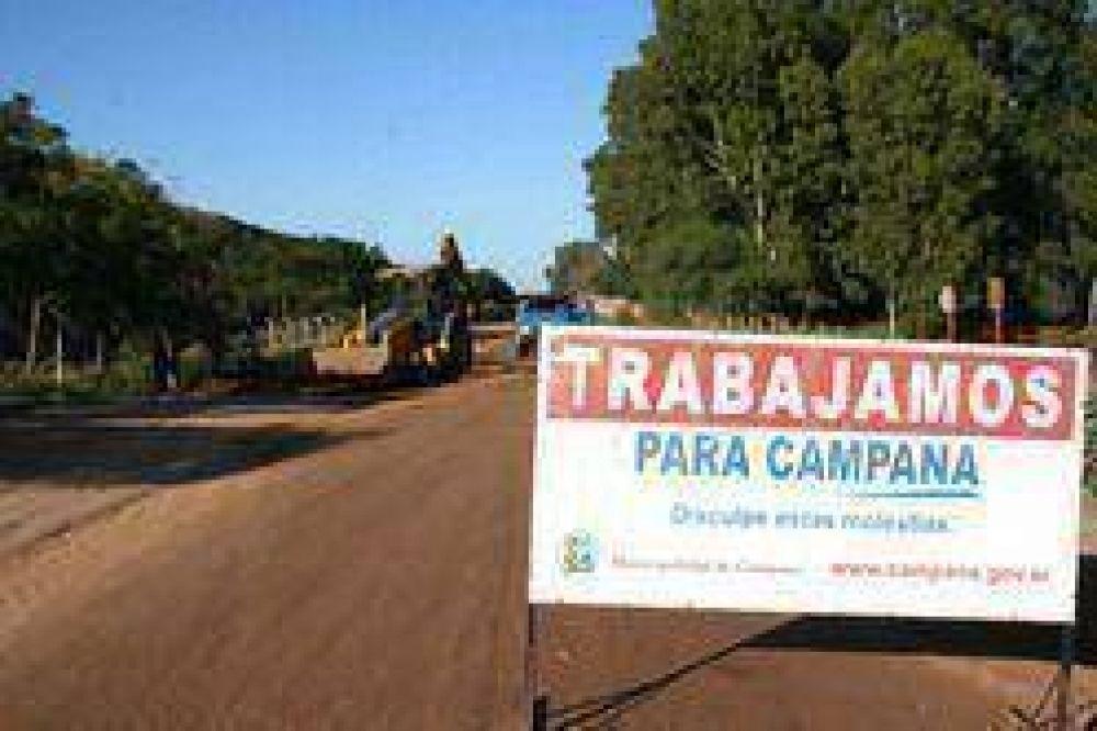 Se realizan trabajos en calles que benefician a los barrios Don Francisco, Santa Florentina y Héroes de Malvinas.