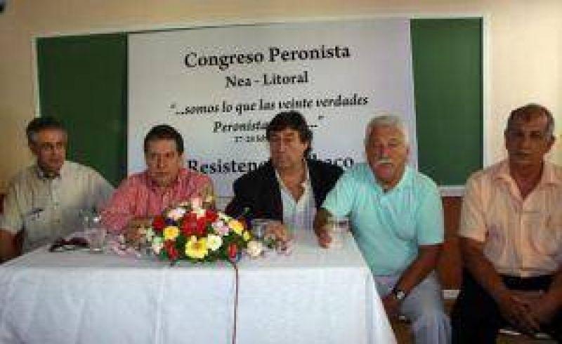 Ramón Puerta impulsa la reconstrucción del peronismo