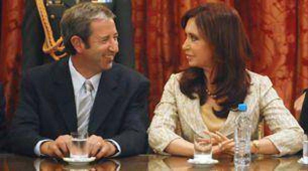 Cristina Kirchner y Julio Cobos deberán mostrarse juntos en el Congreso