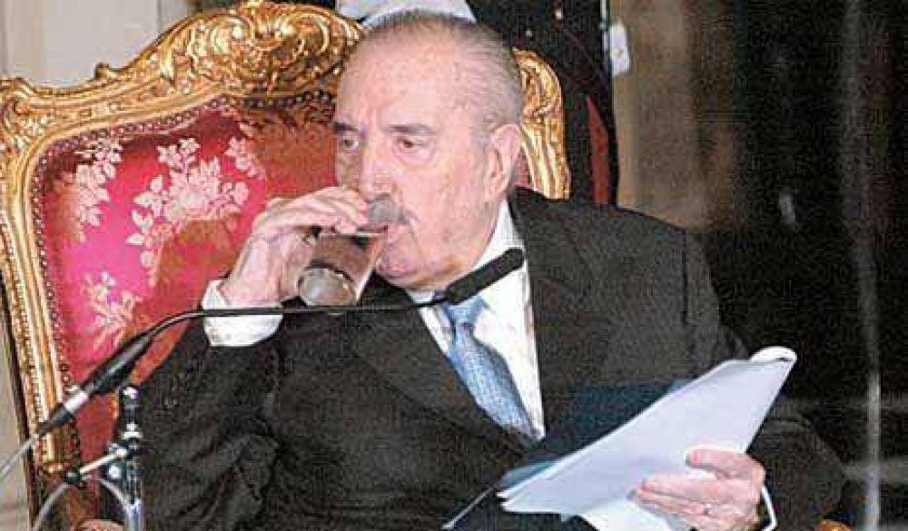 Alfonsín bendijo la unidad radical