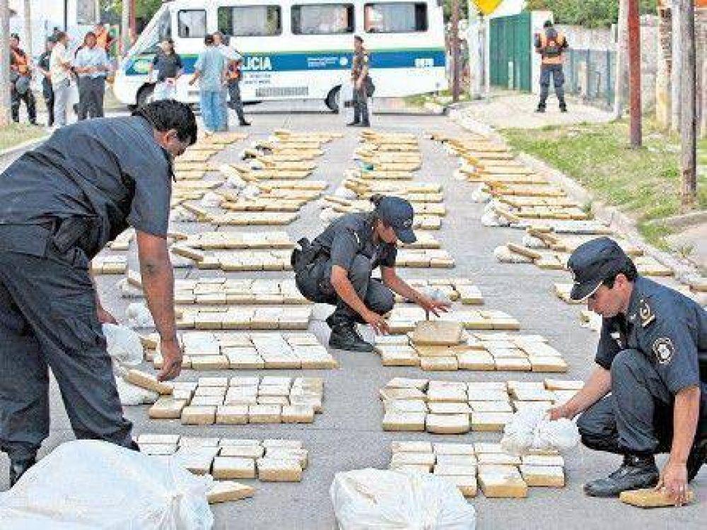La venta de droga alarma a la Justicia